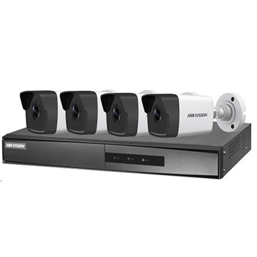 Bộ Kit 4 Camera IP HIKVISION NK42E0H-L